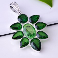 Flower Green Pendant