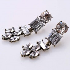 Stunning Clear Crystal Earrings